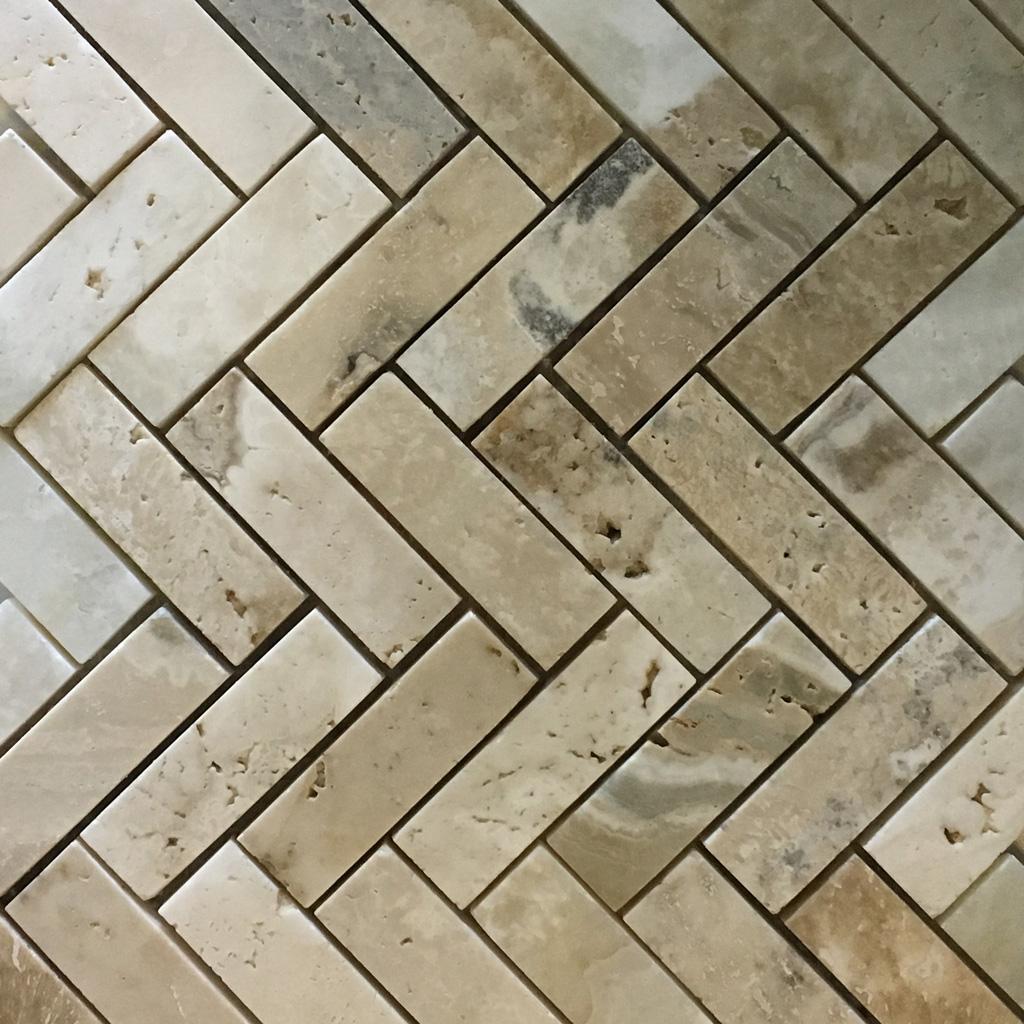 Herringbone Mosaic La Travonya