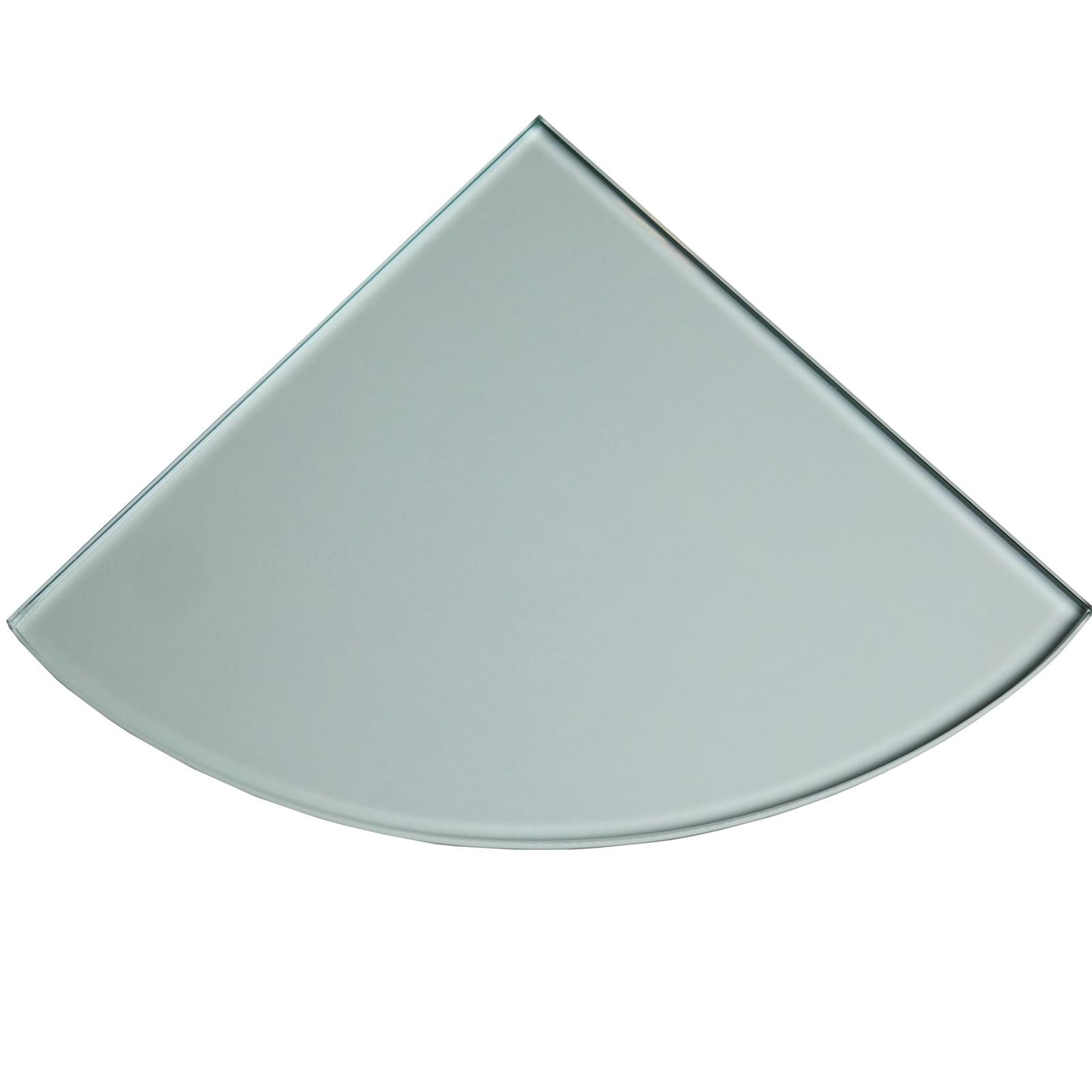 clear tempered glass bathroom caddy corner shelf. Black Bedroom Furniture Sets. Home Design Ideas