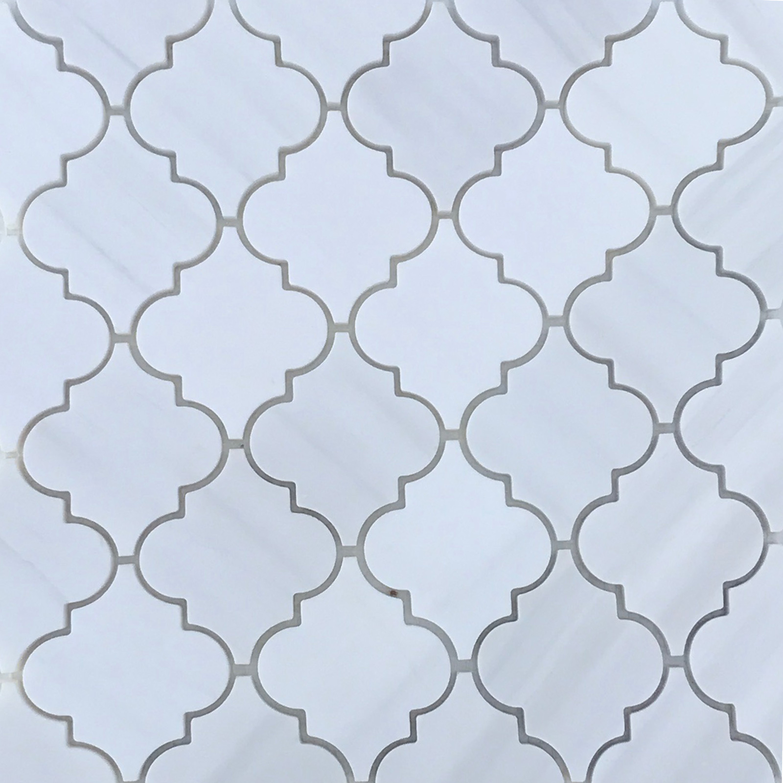 Luxury Dolomite Arabesque Lantern Tile