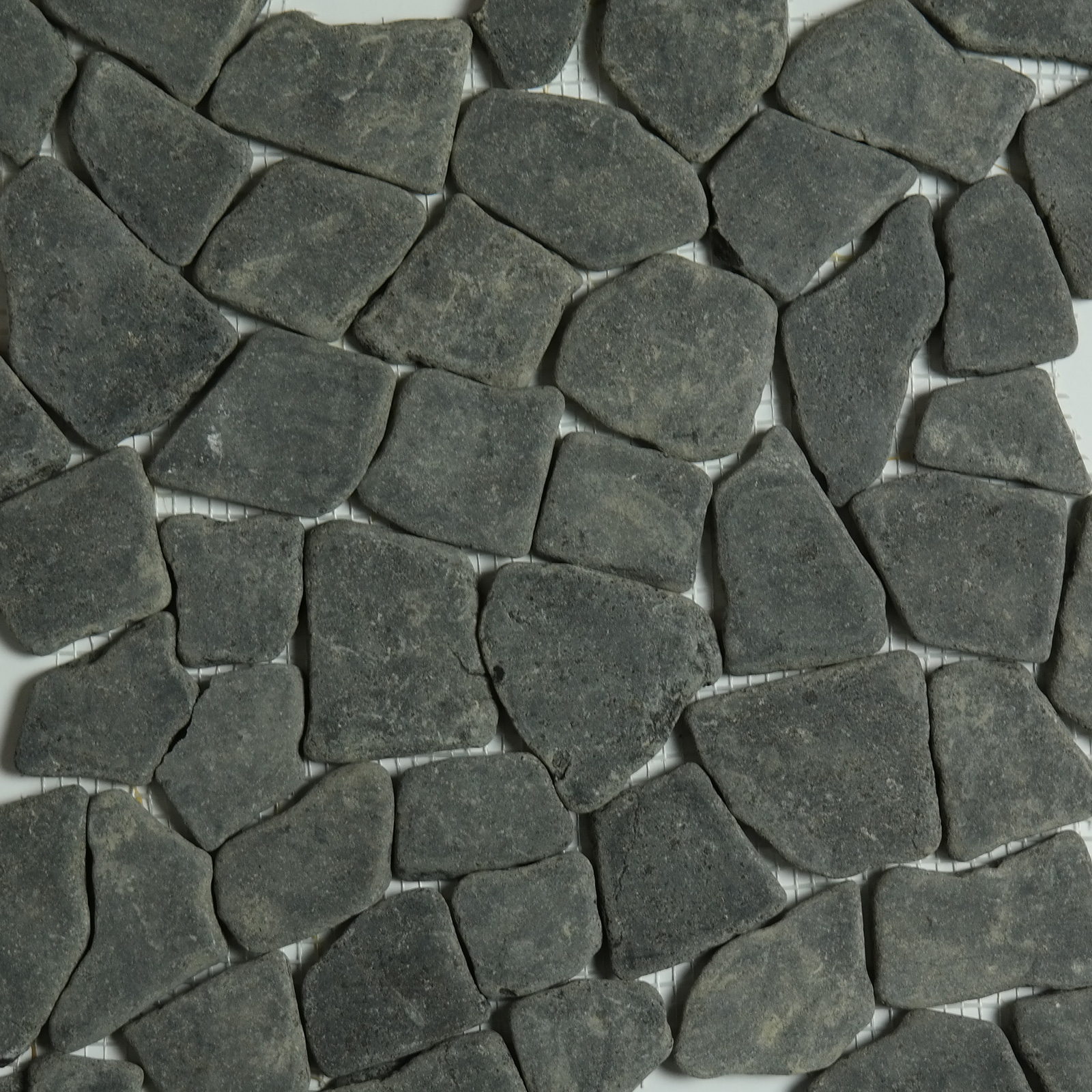 Black Stone Tile Pebble Mosaic