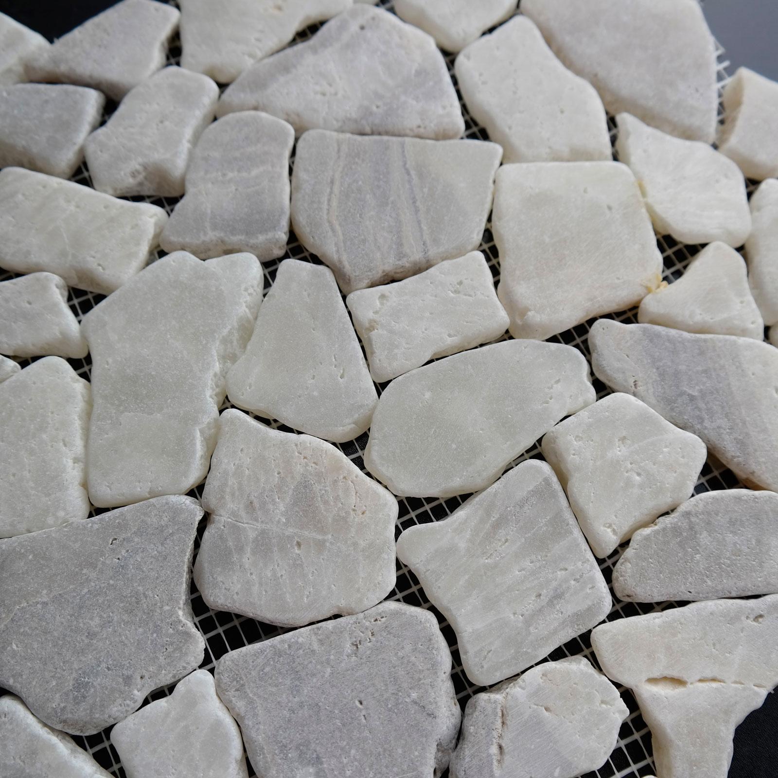 Onyx Stone Tile Pebble Mosaic
