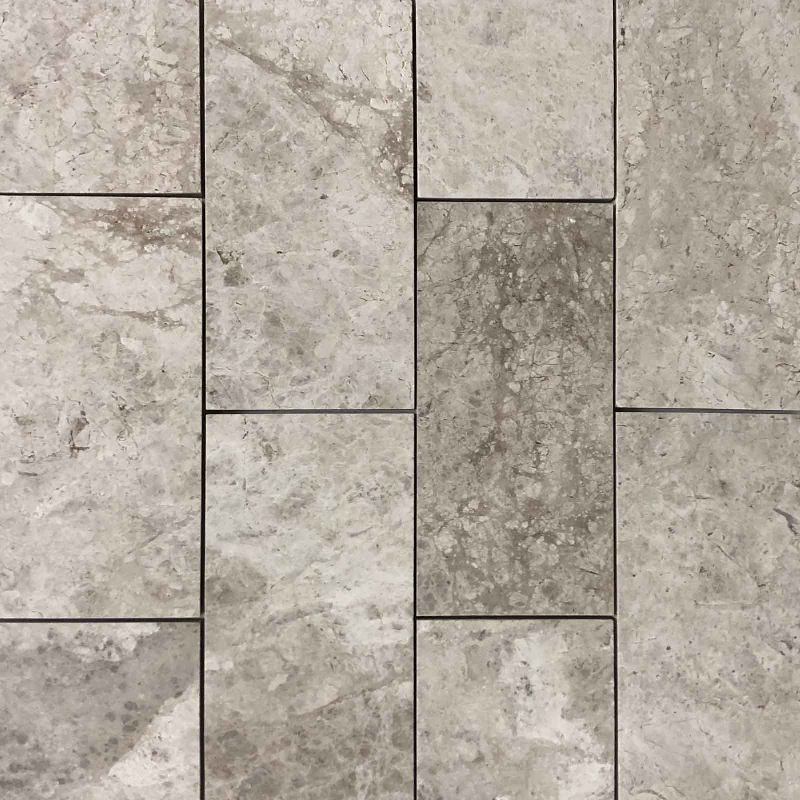 12 X 24 Silver Shadow Grey Tile