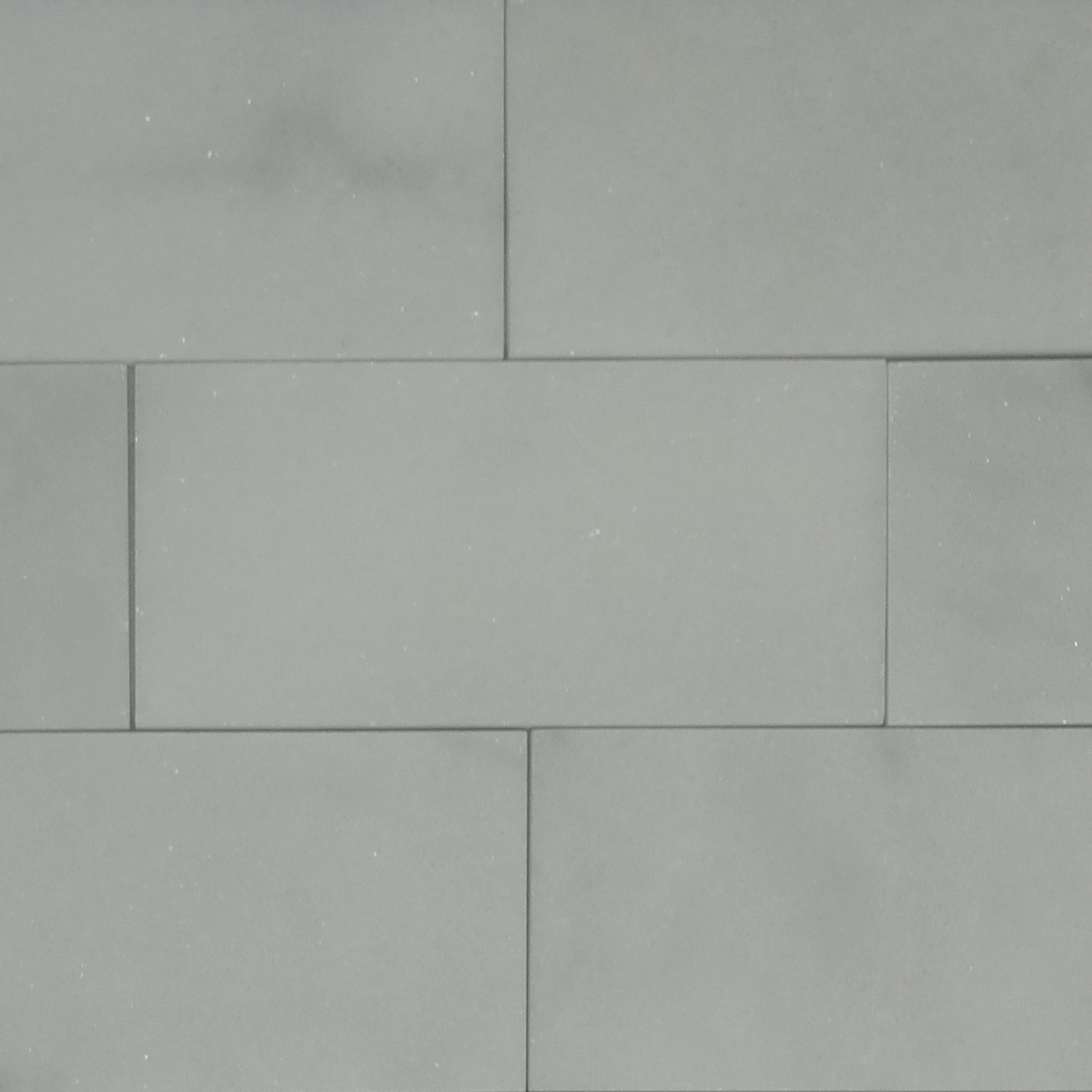 6 X 12 Tile White Marble Polished