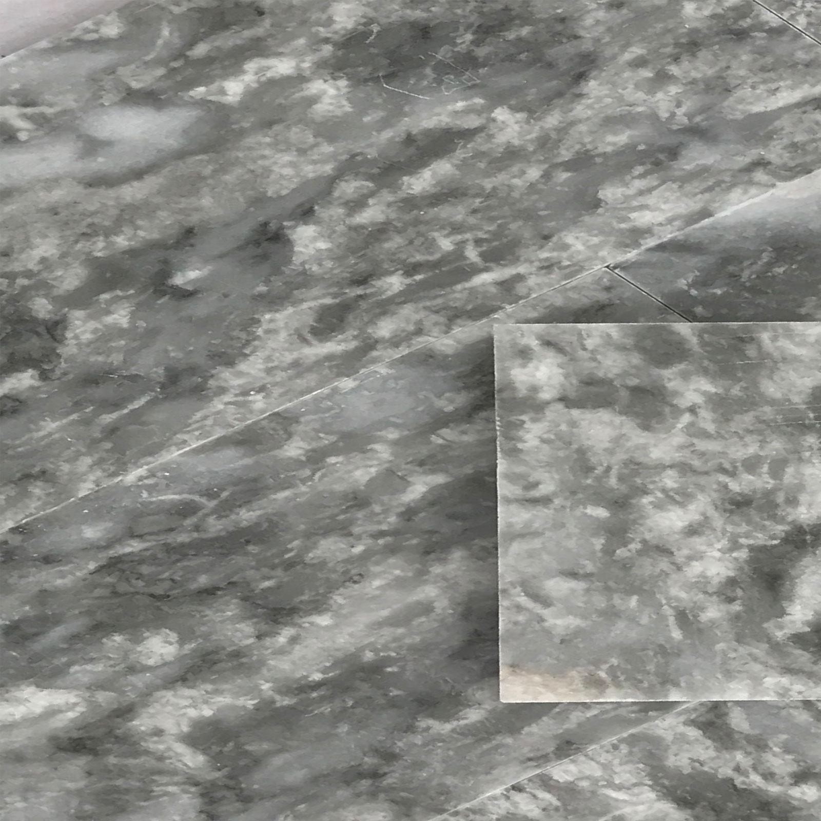 4 x 12 Tile Light Grey Marble Polished