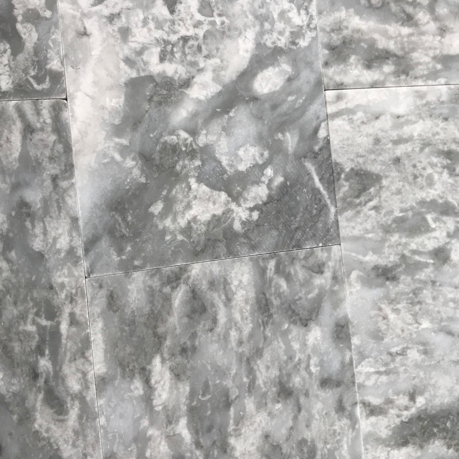 12 X 12 Tile Light Grey Marble Polished