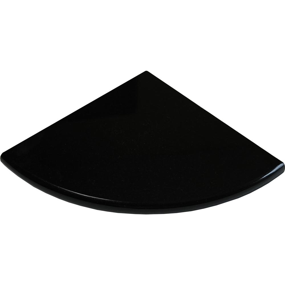 Absolute Black Granite Bathroom Caddy Corner Shelf