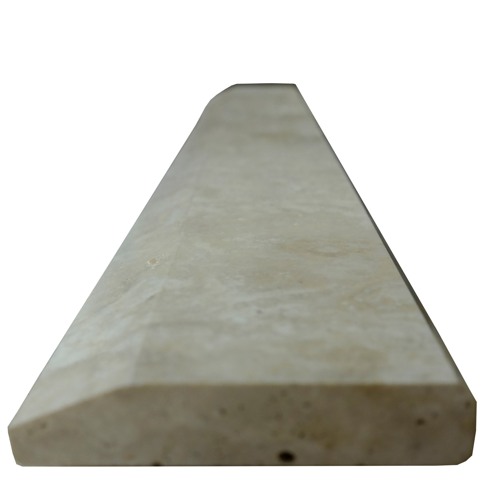4 X 32 Hollywood Saddle Ivory Travertine