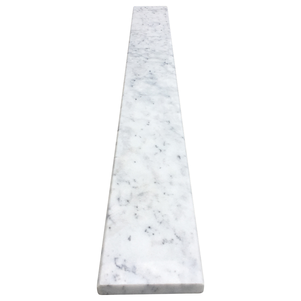 4 X 36 Saddle Threshold Tiger Carrara Marble Stone