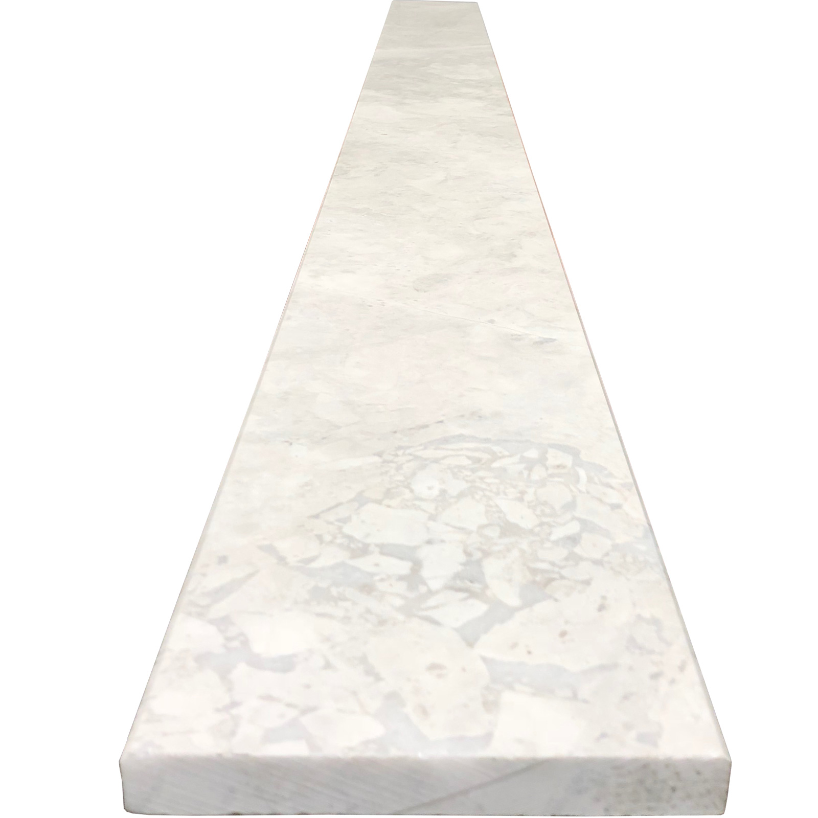 6 X 36 Threshold Saddle Moon White Carrara