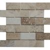 2 X 4 Mosaic Tile Autumn Onyx Honed