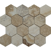 3 Inch Hexagon Mosaic Tile Autumn Onyx Honed 3-Inc-Hexagon-Mosaic-Tile-Autumn-Onyx-Honed
