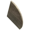 Wooden Grey Marble Bathroom Caddy Corner Shelf - GGWGME34