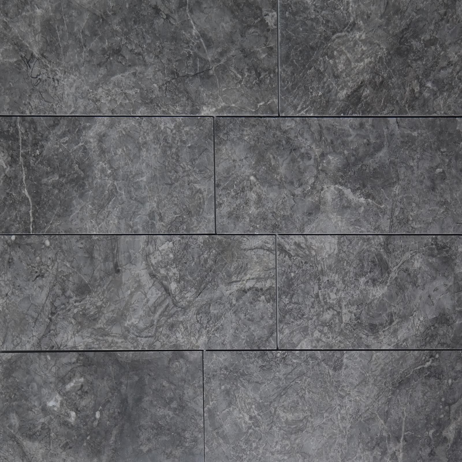 4 x 12 tile dark grey marble polished 4x12dark