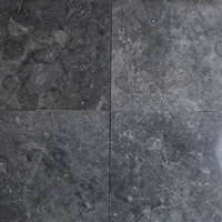 12 x 12 Tile Dark Grey Marble Polished