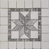 Medallion Mosaic Tile Dolomite Marble Polished - DLMM2938