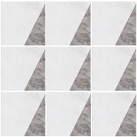 Volcano Mosaic Tile Iceberg - Light Grey