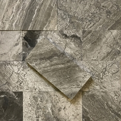 3 x 6 Tile Shades Of Grey Marble Polished