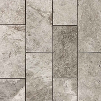 12 x 24 Tile Silver Shadow Marble Polished