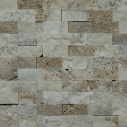 1 X 2 Split Face Mosaic Tile Autumn Onyx Honed 1-X-2-Split-Face-Mosaic-Tile-Autumn-Onyx-Honed