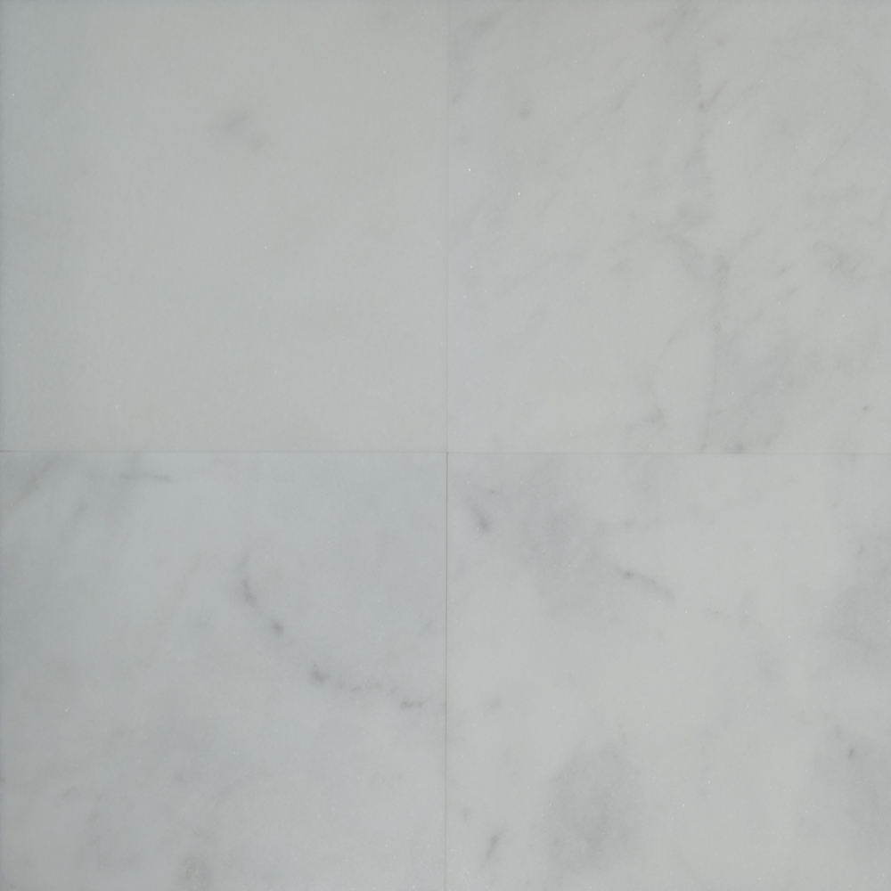 White Marble Bathroom Tile: 12 X 12 Tile White Marble Polished