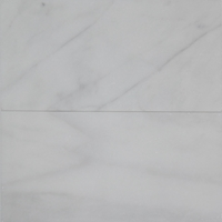 12 x 24 Tile White Marble Polished