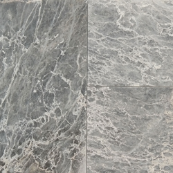 12 X 24 Tile White Grey Marble Polished