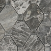 Boliche Mosaic Tile White Grey Marble Polished - WGEBLC