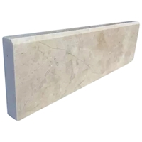 Stone Baseboard Cappuccino Beige Marble