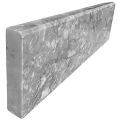 Stone Baseboard Light Grey Marble