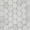 2 Inch Hexagon Mosaic Tile Whole Dolomite Marble Polished - DMPGH33