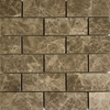 2 x 4 Mosaic Tile Emperador Light Marble Polished - EPP24M