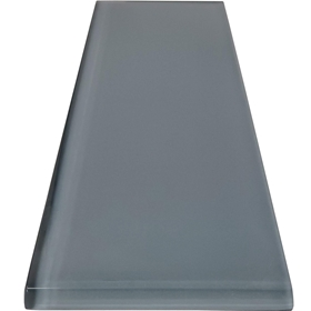 3 x 12 Atlantic Grey Subway Glass Tile