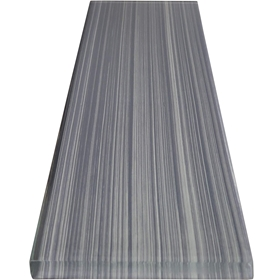 3 x 12 Pacific Grey Line Subway Glass Tile