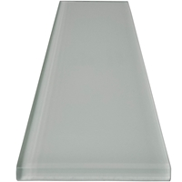 3 x 12 Pearl White Subway Glass Tile