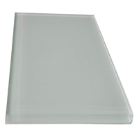 3 x 6 Pearl White Subway Glass Tile