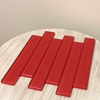 Whole Red Glass Tile 2 x 12 Polished - WRGGT2X12