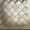 Lantern Arabesque Mosaic Tile Botticino Marble Polished - BLMAMGP2