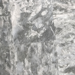 12 x 12 Tile Light Grey Marble Polished