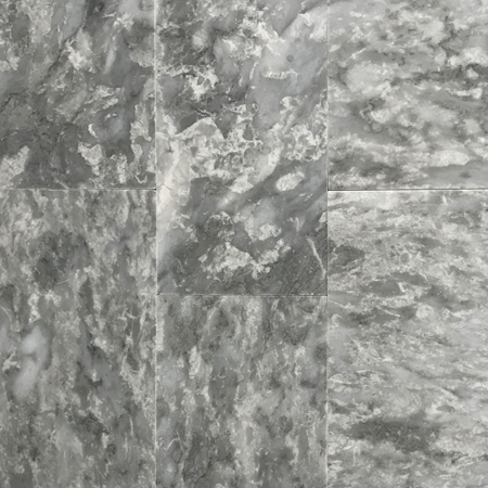 12 x 24 Tile Light Grey Marble Polished