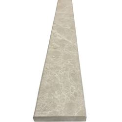 4 x 24 Saddle Threshold Botticino Beige Marble Stone
