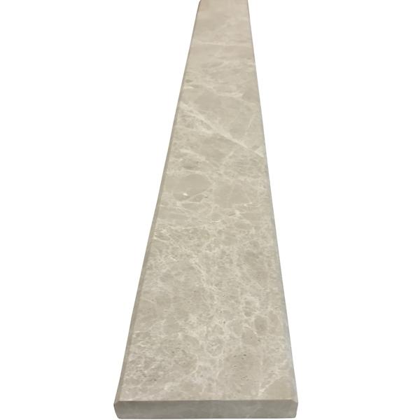 5 X 36 Threshold Saddle Bottichino Marble