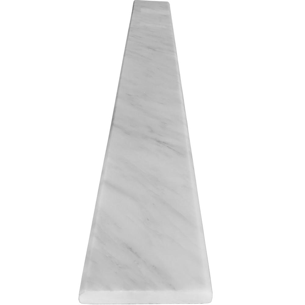 6 x 40 Saddle Threshold Asian Carrara Marble Stone