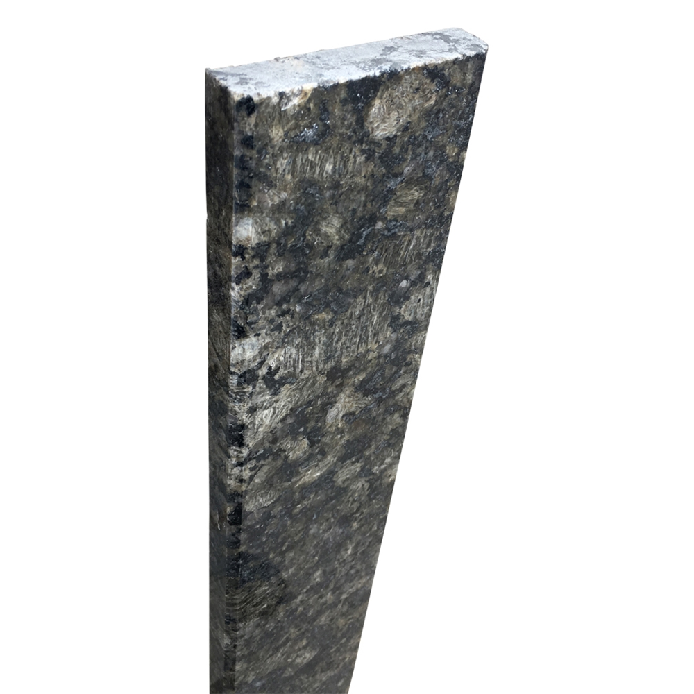 4 X 36 Saddle Threshold Black Galaxy Granite Stone