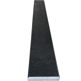 6 x 65 Saddle Threshold Absolute Black Granite Stone