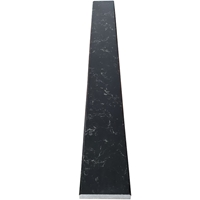 4 x 24 Saddle Threshold Black Quartz