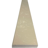 4 x 24 Saddle Threshold Bottichino Beige Quartz Stone