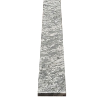 5 x 40 Saddle Threshold Light Grey Stone