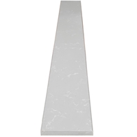6 x 60 Saddle Threshold Sky Grey Quartz