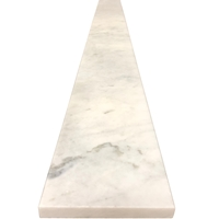 6 x 36 Saddle Threshold Imperial Carrara Stone