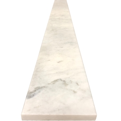 4 x 60 Saddle Threshold Imperial Carrara Stone